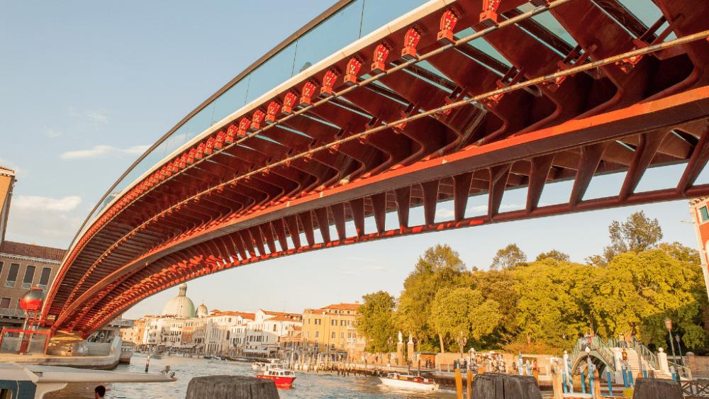 Calatrava bridge venice Italy