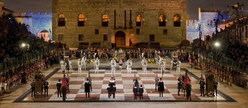 live chess game marostica italy