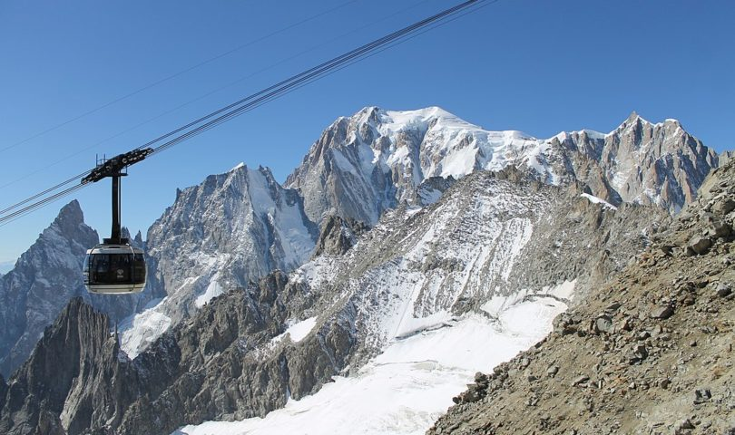 Mont Blanc's Skyway