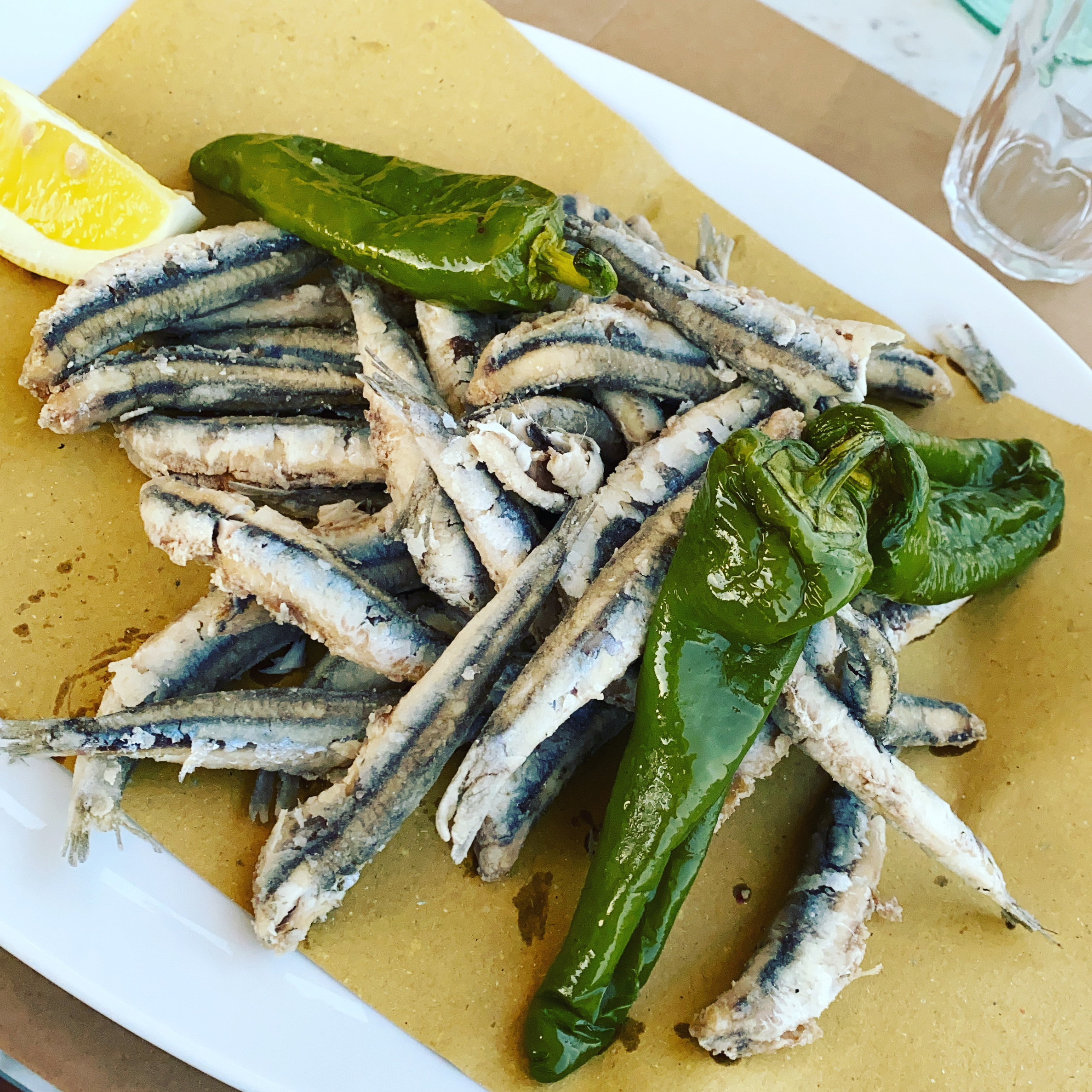 Anchovies Main Course