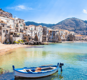 motorcycle trips in Italy