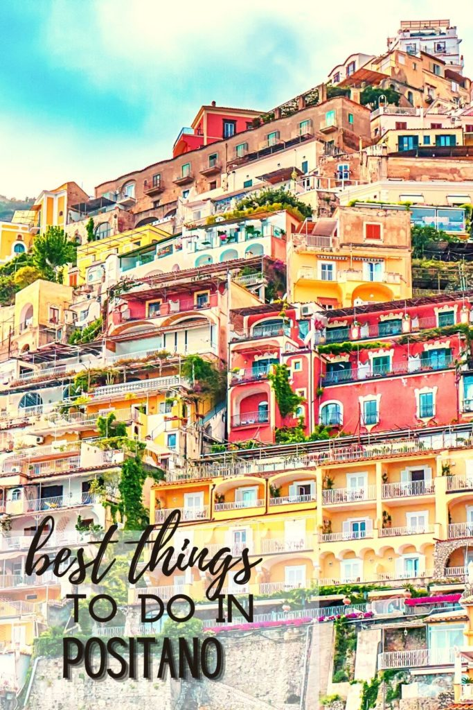 best things to see in positano