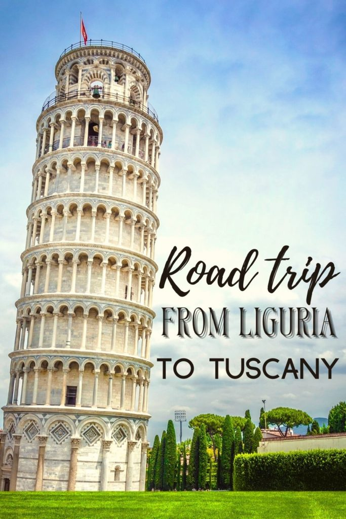 liguria tuscany road trip