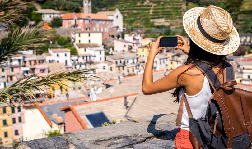 Tourism travel Italy