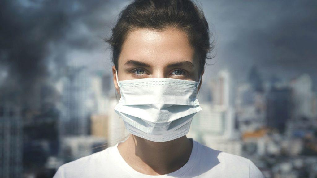 pandemic coronavirus face mask