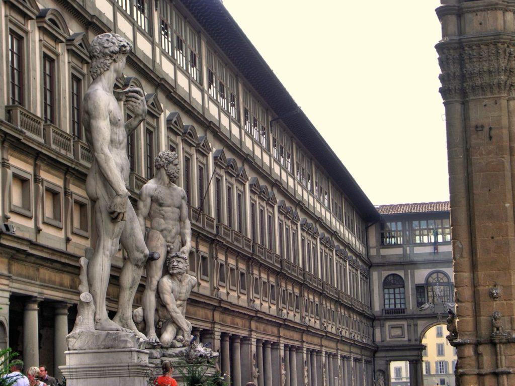 Uffizi in Florence