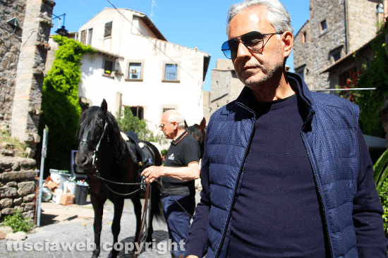 Bocelli and the Via Francigena